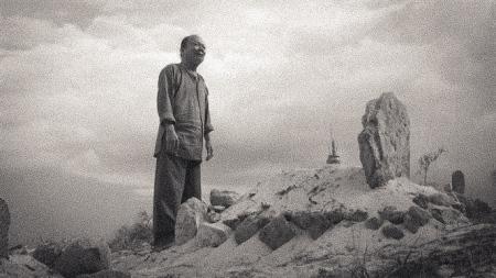 Cảnh trong phim Mộ Gió của đạo diễn Nguyễn Hữu Phần.