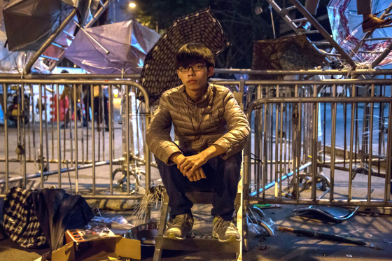 Images of The Admiralty Protest Site Ahead of Police Clearance Tomorrow